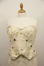 1980s Sequined Bodice