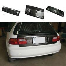 For 92-95 Honda EG Civic Carbon Fiber Hatchback Rear Trunk Boot Lid Cover