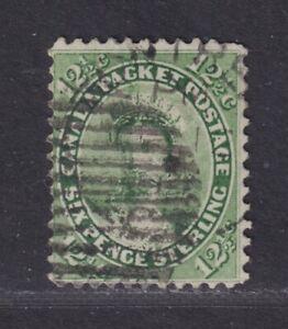 Canada Scott 18 Used 1859 12½¢ Yellow Green Victoria SCV $150