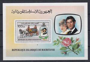 7463 Mauretanien Block 32 postfrisch  (449)