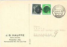 Gebiet SBZ Ungeprüfte Deutsche Briefmarken der sowjetischen Besatzungszone mit Mischfrankatur