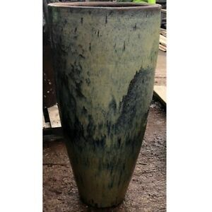 129cm CLEARANCE Yellow Chinese Yakuta Water Jar Shanxi Garden Planter/Plant Pot