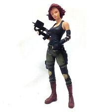 "Mcfarlane Toys Metal Gear Solid Meryll Plata 6"" Anime Videojuego Figura Rara"
