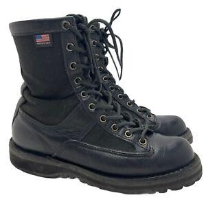 "Danner Acadia 8"" Gore-Tex GTX boots 21210 Black Leather USA Work Women 7.5 M"