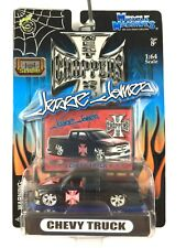 West Coast Choppers Jesse James Chevy Extended Cab Pickup Truck Slam Action 1/64