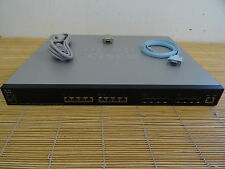 Cisco SG500XG-8F8T-K9 Stackable Managed Switch