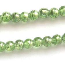 300 Peridot Drawbench Translucent 6mm Beads Jewellery Making