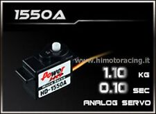 MINI SERVO ANALOGICO POWER HD da 1.1kg 0,10 sec HIGH SPEED POWER HIMOTO HD-1550A