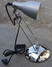 LAMPADA DA TAVOLO IN ACCIAIO CROMATO SOVIL 1340 40W E14 CAMERA STUDIO UFFICIO