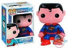 Pop Dc Comics Heroes Superman Px Exclusive Vinyl Figure New 52 Version Funko