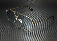 GUCCI GG0410SK 005 Navigator Gold Havana Gold Light Blue 61 mm Unisex Sunglasses