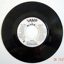 DISQUE 45 TOURS DE 1983 DE RICHARD HUET, AMEN (Medley gospel) + AMEN
