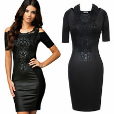 Cotton Short Sleeve Wiggle, Pencil Dresses for Women
