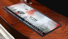 We Will Remember Them WW1 Bar Runner  *DONATION TO POPPY APPEAL* Towel Pub Mat