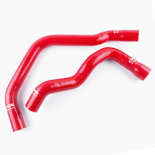 Silicone Coolant Radiator Hose Pipe Kit For 81-87 Buick Regal 5.0L 1981-1987 Red