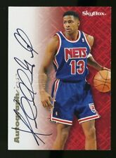 1996-97 Skybox Autographics KENDALL GILL Auto/Autograph New Jersey Nets
