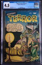 Beware Terror Tales #2 CGC 4.5 Horror Comic 1952 Fawcett Publications