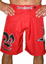 Punishment Athletics Red Fight Shorts. Tito Ortiz UFC 133 Rashad Evans MMA