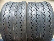 TWO 18/8.50-8, 18/8.50x8 Golf Cart, Lawnmower Sawtooth Turf Tread 4 ply Tires
