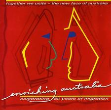 ENRICHING AUSTRALIA-CELEBRATING 50 YEARS OF MIGRATION /VARIOUS ARTISTS-RARE &OOP