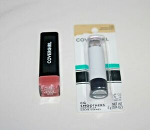Covergirl Colorlicious Lipstick #245 + Smoothers Concealer #730 Lot Of 2 Sealed