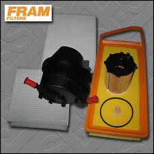 KIT di servizio PEUGEOT 207 1.4 HDI FRAM Olio Aria Carburante Cabin filtri (2006-2009)
