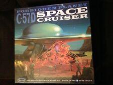 1/72 Polar Lights Forbidden Planet C-57D Space cruiser & diorama model round 2