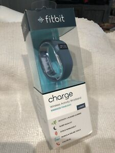 FITBIT Charge Wireless Activity Tracker + Sleep Wristband BRAND NEW SEALED sz L