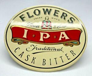 FLOWERS IPA CASK BITTER METAL PUMP CLIP - BEER HOME BAR BADGE BITTER PUB