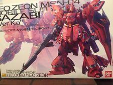 Gundam 1/100 MG Neo Zeon MSN-04 Sazabi Ver. Ka Mobile Suit Model Kit