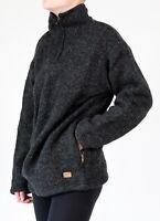 Wollpullover Troyer Seemannspullover 6 Größen 100% Schafswolle Handarbeit Nepal