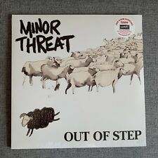 MINOR THREAT Out of Step LP SEALED Vinyl Dischord Records straight edge fugazi