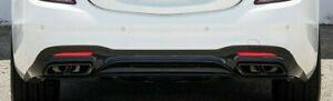 Mercedes OEM Quad Tip Black Chrome Night Package W222 C217 R231 S 65 SL 65 AMG