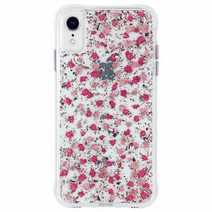 Case-Mate Petals Case For iPhone XR Ditsy Flower Pink
