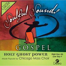 Chicago Mass Choir - Holy Ghost Power -  Accompaniment CD NEW