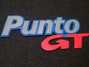 Logo Fiat Punto GT 2da serire replica stemma personalizzabile Stampa 3D ABS