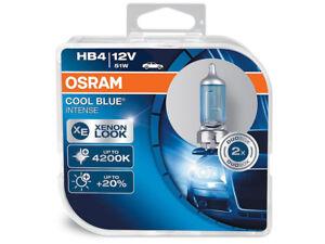 2x NEW OSRAM COOL BLUE INTENSE 4200K HB4 9006CBI HEADLIGHTS FOGLIGHT GERMANY