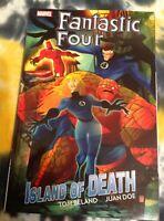 FANTASTIC FOUR Island of Death (TPB) - Marvel Comics / Tom Beland, Juan Doe