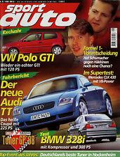 sport auto 9/98 1998 Breyton BMW 328i Mercedes CLK 430 Carlsson Gemballa Extremo
