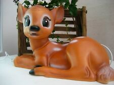 Bambi Lampshade Heico Deer Fawn  Plastic Children's  6W Led 12 volt  Brown
