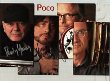 8 x 10 Glossy Photo Poco Autograph {236}