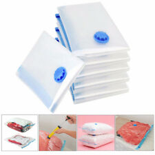 5Pcs Vacuum Storage Bags Space Saving Clothes Home Travel Compressed Bag New ZB