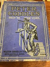 PETER CODDLE'S TRIP TO NEW YORK! Milton Bradley Springfield Mass 4364 Rare!