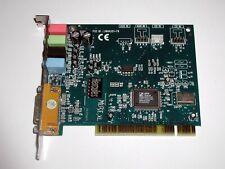 PCI 4.0 Soundkarte Hercules Muse XL, C-Media CMI8738/PCI-SX, gebraucht