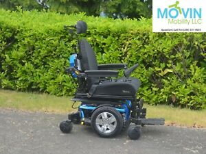 Pride Quantum Edge 2.0 Electric Wheelchair w/ Power Seat Tilt Power Chair