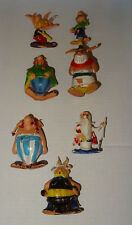 LOT 7 FIGURINES DE LA BD ASTERIX PUB HUILOR, OBELIX, PANORAMIX, ABRARACOURCIX