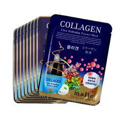 9 PCS Collagen Facial Skin Care Mask Pack Essence Collagen Moisture Malie