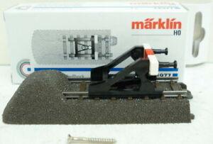 Marklin 24977 C Track End with Bumper