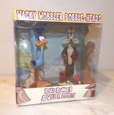 LOONEY TUNES WILE E COYOTE & ROAD RUNNER FUNKO WACKY WOBBLER BOBBLE HEAD NIB