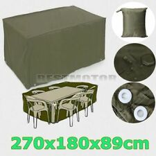 Garden Bench Furniture Protective Patio Waterproof Outdoor Tables &Chairs Cover